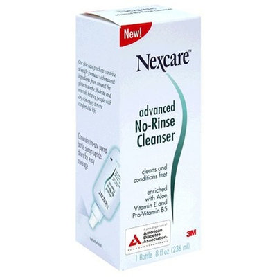 3M Nexcare Advanced No Rinse Cleanser, 8-Ounces (Pack of 3)