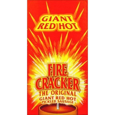 Fire Cracker Sausage PENROSE FIRE CRACKER GIANT RED HOT SAUSAGE 15CT BOX