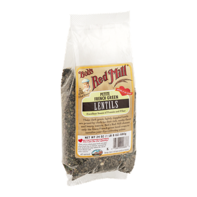 Bob's Red Mill Lentils Petite French Green