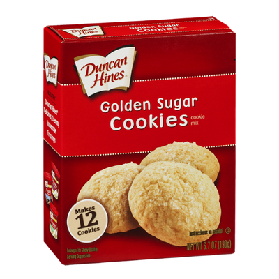 Duncan Hines Golden Sugar Cookies