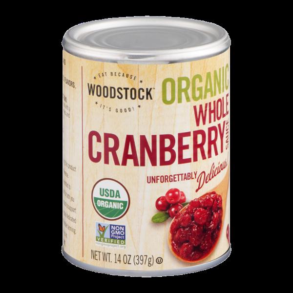 Woodstock Organic Whole Cranberry Sauce