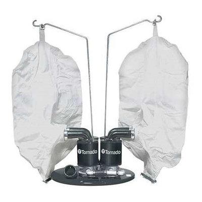 TORNADO 98695 Quad Head Pneumatic Vacuum Head,50 HP