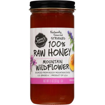 Sam's Choice Mountain Wildflower 100% Raw Honey, 11 oz
