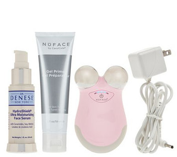 NuFace Mini Facial Toning Device w/ Dr. Denese Serum
