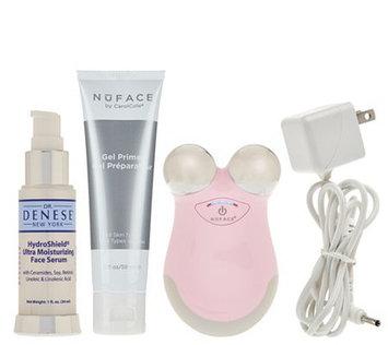 NuFace Mini Facial Toning Device w/ Dr. Denese Serum