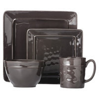 Threshold Wellsbridge Square Ceramic 16 Piece Dinnerware Set -