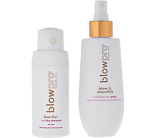 Blow Pro Oud Blow Out Spray with Dry Shampoo Powder