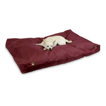Snoozer Burgundy 100% Polyester Rectangular Dog Bed 77022