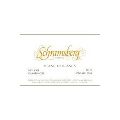 Schramsberg Vineyards Blanc De Blancs 2005 750ML