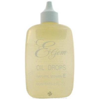 Carlson Labs E-Gem Natural Vitamin E Oil Drops 2 Ounces (6 Packs)