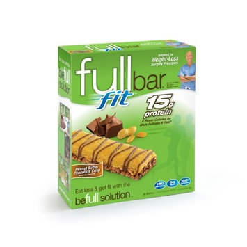 Fullbar Peanut Butter Chocolate Crisp Fit Bars, 6-Count
