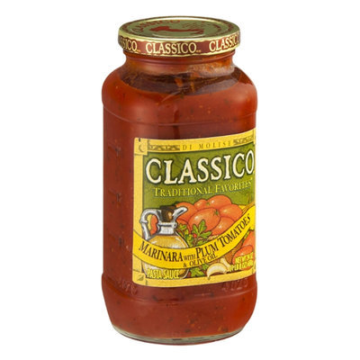 Classico Pasta Sauce Traditional Favorites Marinara with Plum Tomatoes & Olive Oil