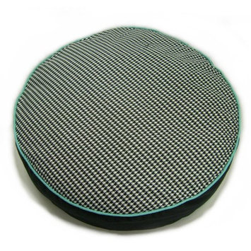Lava Houndstooth Round Pet Bed - 47944.001