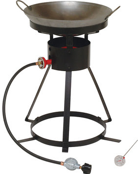 King Kooker 12 Portable Propane Outdoor Cooker with Wok