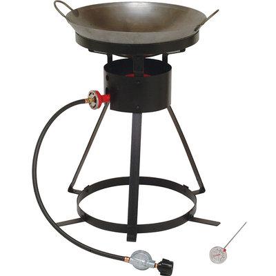 King Kooker 12 Portable Propane Outdoor Cooker with Wok