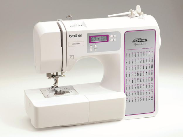 Brother Sewing Brother Project Runway CS-8800 Limited Edition Computerized Sewing Machine