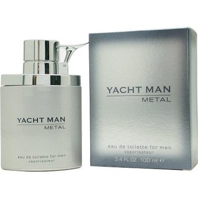 Myrurgia Yacht Man Metal Yacht Man Metal Eau De Toilette Spray