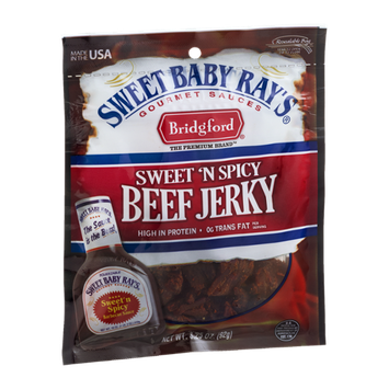 Sweet Baby Ray's Beef Jerky Sweet 'N Spicy