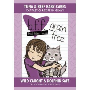 Weruva International WU00896 Best Feline Friend Tuna - Beef Baby Cakes 24 - 3 Oz.