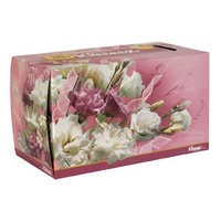 Kleenex Facial Tissue, Family Size, White in Colored Carton (280 Tissues)