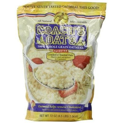 Coach's Oats 100% Whole Grain Oatmeal, 4.5 lbs [4.5 lbs)]