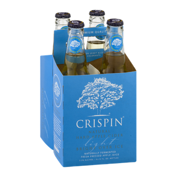 Crispin Natural Hard Apple Cider Light - 4 PK