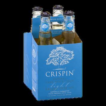 Crispin Natural Hard Apple Cider Light - 4 PK
