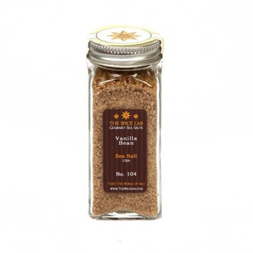 Gourmet Salt Company Vanilla Bean Sea Salt - in Spice Bottle - Packaged by TheSpiceLab Inc.