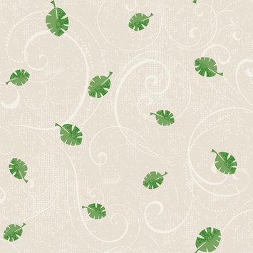 York Wallcoverings Peek-a-Boo Leaf Scroll Wallpaper