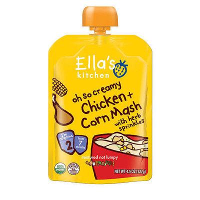 Ellas Kitchen Ella's Kitchen Stage 2 Oh So Creamy Chicken 'n' Corn Mash with Herb Sprinkles - 4.5 Ounce