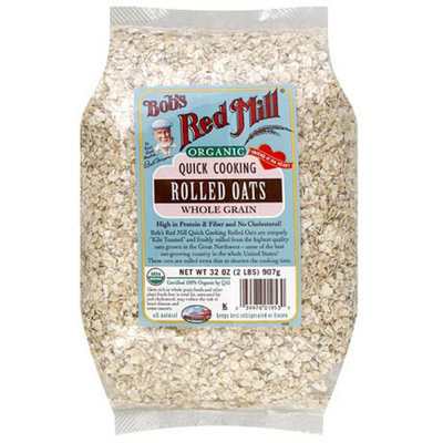 Bob's Red Mill Organic Quick Cooking Rolled Oats Whole Grain