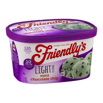 Friendly's Light Ice Cream Mini Chocolate Chip