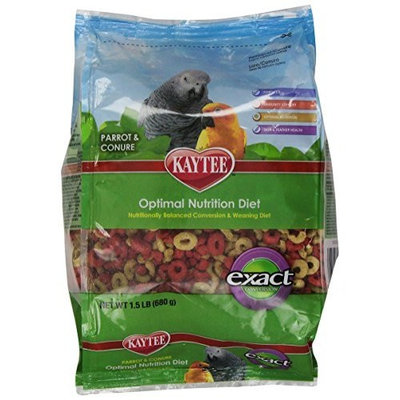 Kaytee Exact Conversion for Parrots and Conures, 1-1/2-Pound