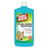 Simple Solutions Cat Stain and Odor Remover, 24-Ounce