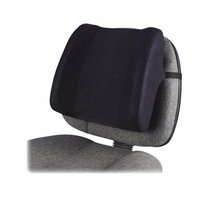 Fellowes 91905 Backrest High Profile 13inx4inx12-5/8in Black