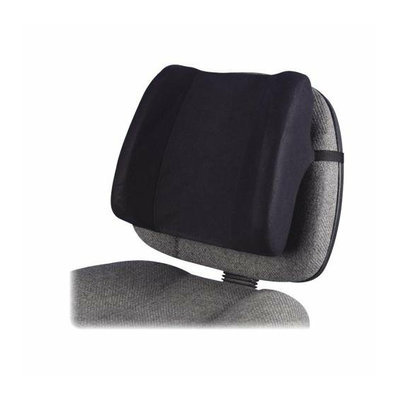 Fellowes 91905 Backrest High Profile 13inx4inx12-5/8in Black