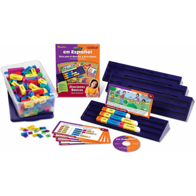 Learning Resources Spanish Read Rods Kit: Oraciones Basicas