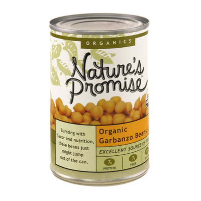 Nature's Promise Organics Organic Garbanzo Beans