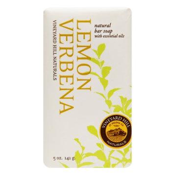 Vineyard Hill Naturals Natural Bar Soap, Lemon Verbena, 5 oz