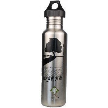U-turn 2 Tap U Turn 2 Tap Stainless Steel Water Bottle ECO-REVERSAL Black Tree 27 oz