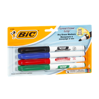 BIC Great Erase Dry Erase Markers