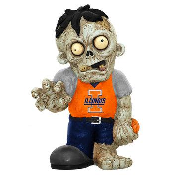 Recaro North Forever Collectibles NCAA Resin Zombie Figurine, University of Illinois Fighting Illini