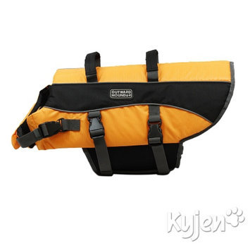 Outward Hound Life Jacket, Large, 1 ea