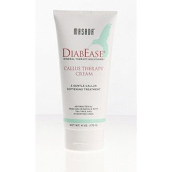 Masada DiabEase Mineral Therapy Solutions- Callus Therapy Cream -- 6 oz