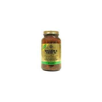 Solgar Natural Vitamin E 1000 IU - Mixed, Vegetarian - 50 - Softgel