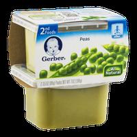 Gerber 2nd Foods Peas - 2 CT