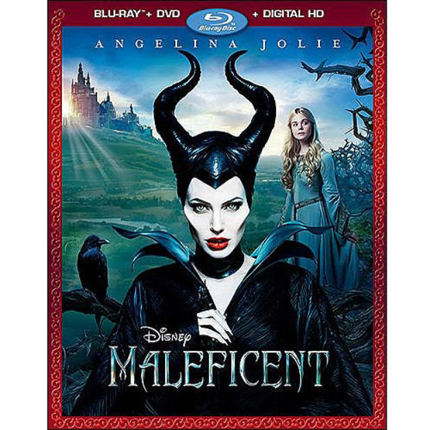 Maleficent (Blu-ray + DVD + Digital HD) (Widescreen)