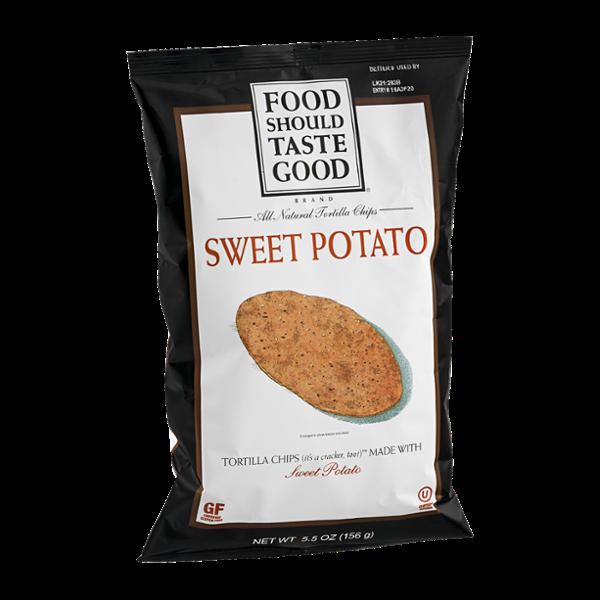 Food Should Taste Good Tortilla Chips Sweet Potato
