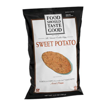 Food Should Taste Good Tortilla Chips Sweet Potato
