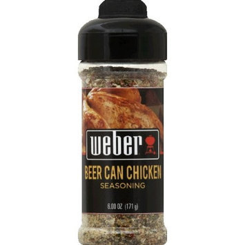 Weber Grill Beer Can Chicken, 6-Ounce (Pack of 4)